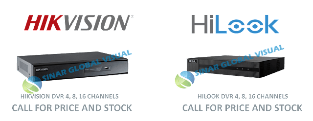 Katalog Harga DVR HIKVISION DAN HILOOK Terbaru 2018