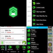 BBM Mod Green Light Theme V2.13.1.13 apk Not Clone + Popup Notification