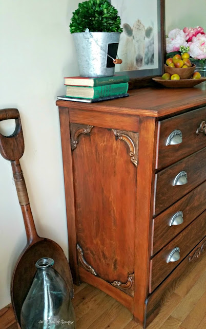 classy antique dresser