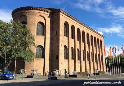 basilica constantino tras .trier - Trier, a cidade romana mais antiga da Alemanha