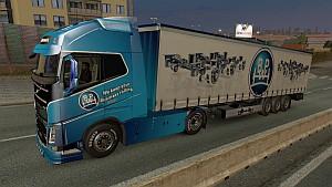 BPW Volvo 2013 skin + trailer