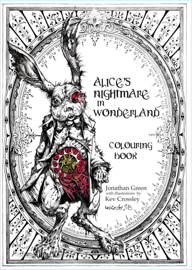 Jonathan Green Author Gamebook Friday Alices Nightmare In Wonderland