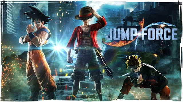 الكشف رسميا عن تاريخ إصدار لعبة Jump Force و المزيد من الشخصيات ..