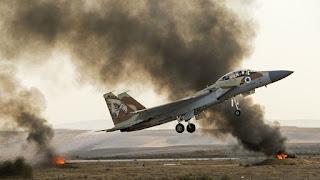 ÚLTIMA HORA: ISRAEL ACABA DE ATACAR UNA BASE MILITAR IRANÍ SITUADA A 14 KILÓMETROS DE DAMASCO
