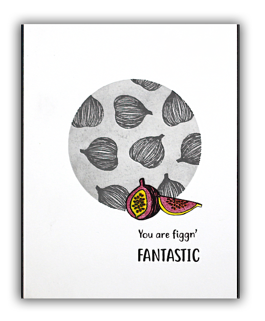 Figgin' Fantastic card by Understand Blue