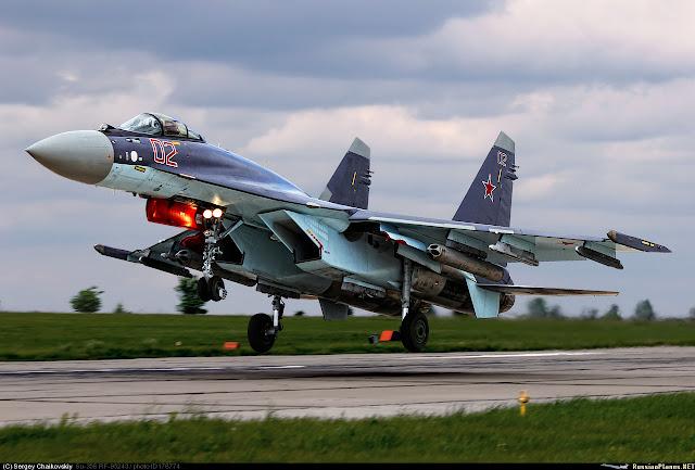 TNI AU Bersabar Menunggu Pembelian Su-35 Flanker-E
