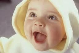 gambar bayi tertawa membahana