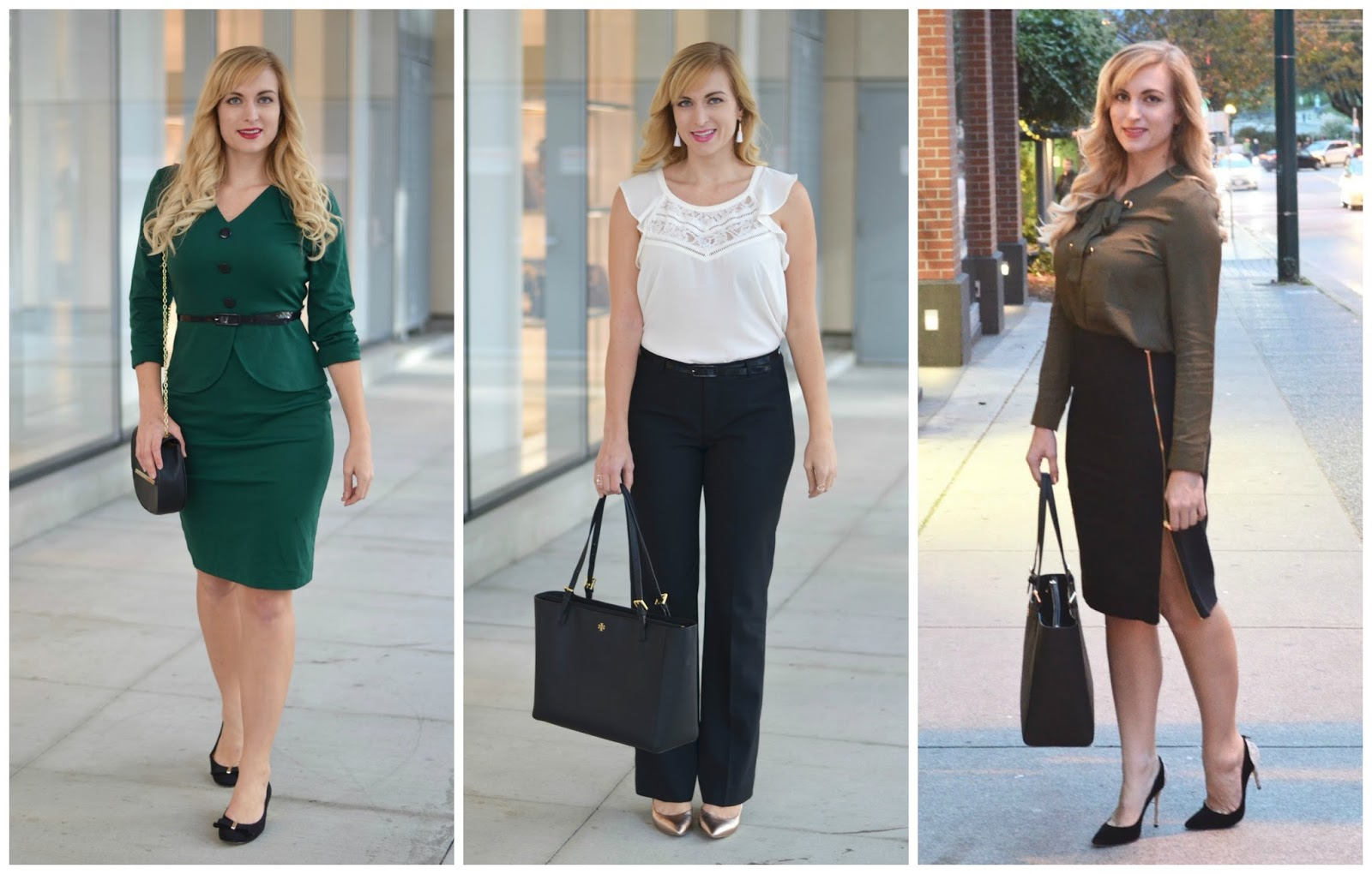 wear to work fall outfits
