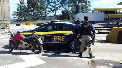 Homem é detido pela PRF por suspeita de jogo do bicho na BR-116