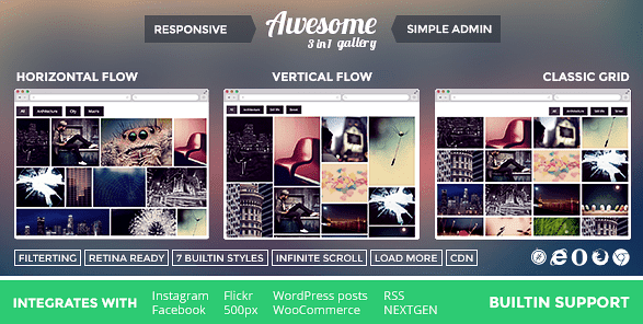 Awesome Gallery Photo Plugin