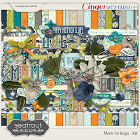 Kit : Mom to Boys by Seatrout Scraps