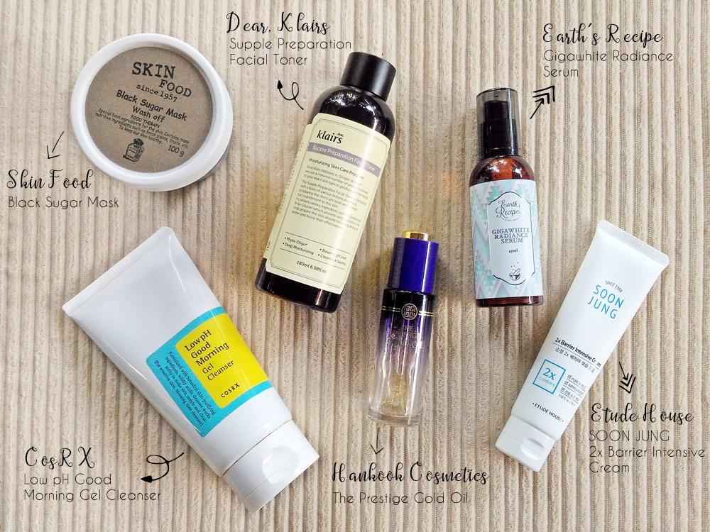 Renee's Night Skincare Routine