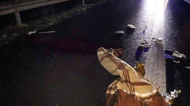 Lasterfahrer aus Mazedonien fährt Mann in Warnweste auf A57 tot