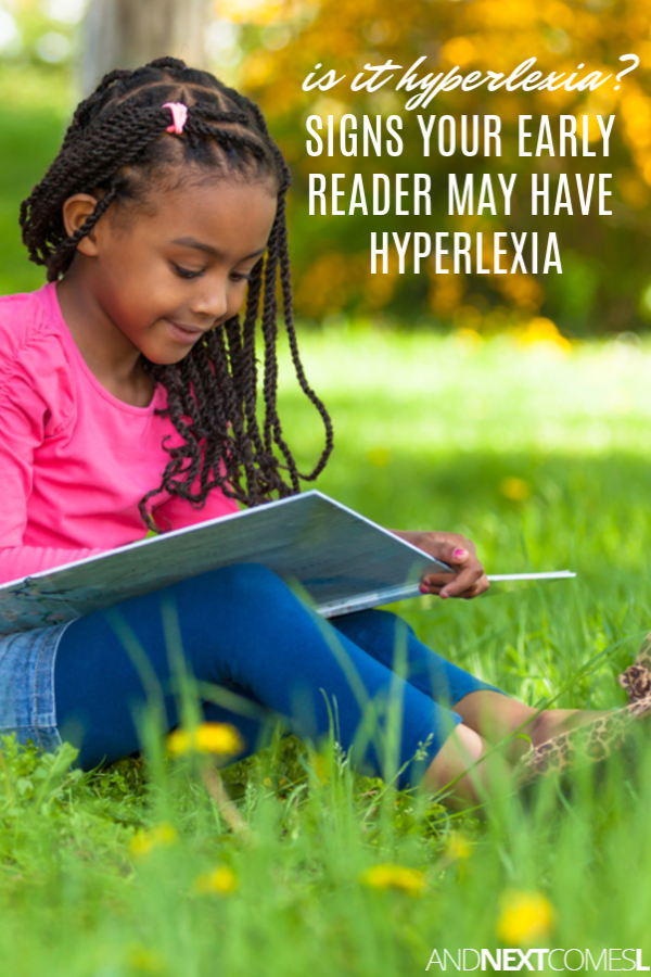 Signs of hyperlexia - how to tell if your early reader is hyperlexic