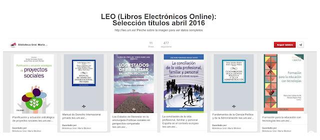 Selección de libros libros electrónicos ingresados en abril 2016.