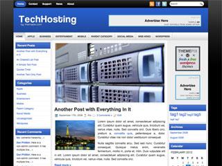 Free TechHosting WordPress Theme
