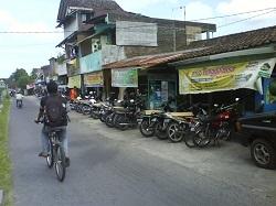 perkembangan kota sekitar kampus UGM