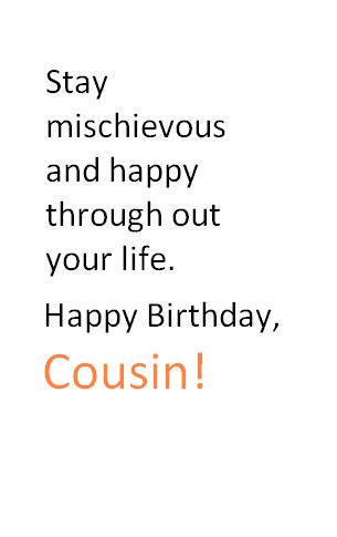 Cousin Birthday Quotes, Wishes and Messages | Quotes Tree