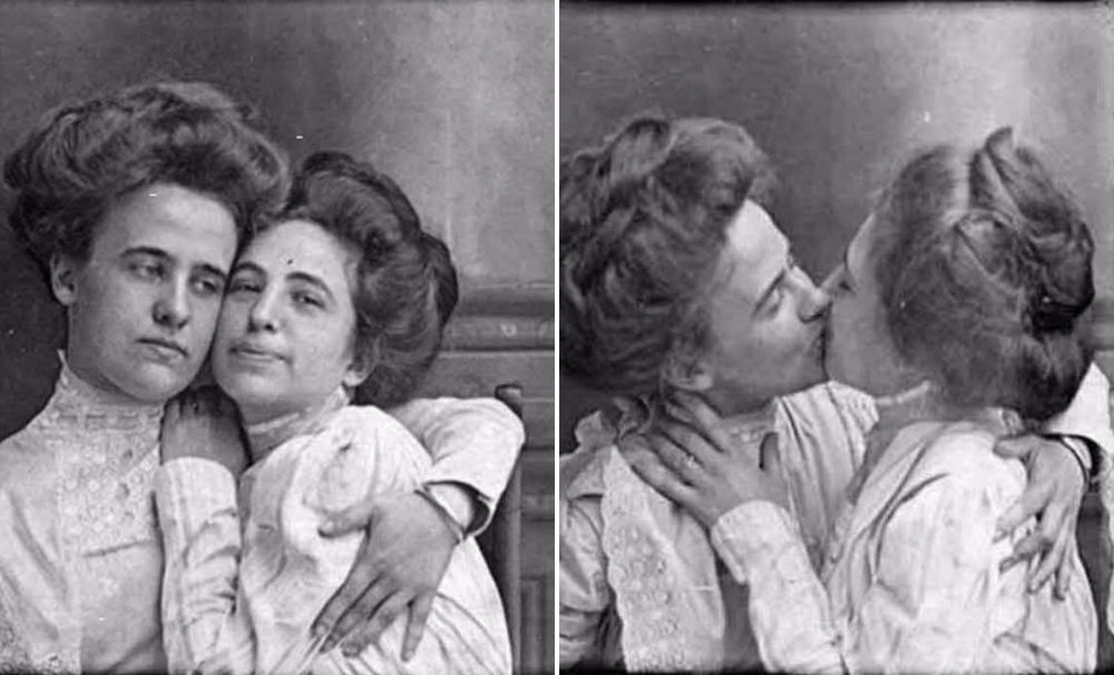 The First Lesbian Lover Selfie...