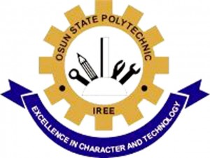 Osun State Polytechnic Iree (OSPOLY) ND Full-Time Admission List