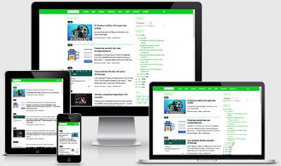 Download Viomagz template blogger penerus evomagz