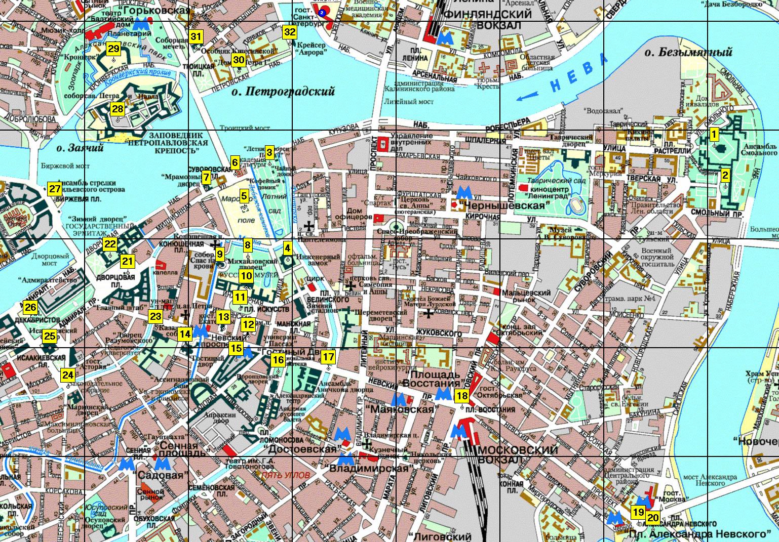 Карта Секса Питер
