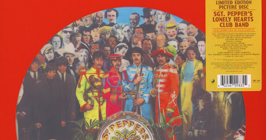 PICTURE DISC DEL 'SGT. PEPPER LONELY HEARTS CLUB BAND' 1978 /1979 / 2017
