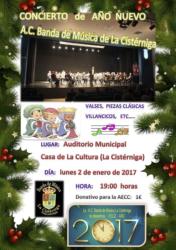 Banda de Musica de La Cisterniga Concierto Año Nuevo 2017