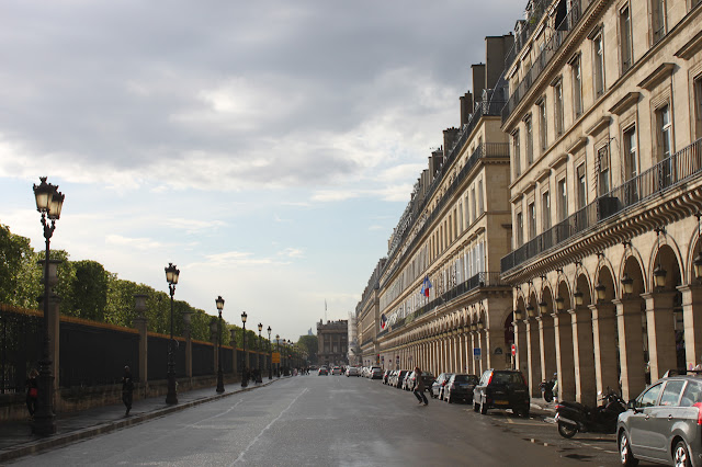 Rua Rivoli de Paris
