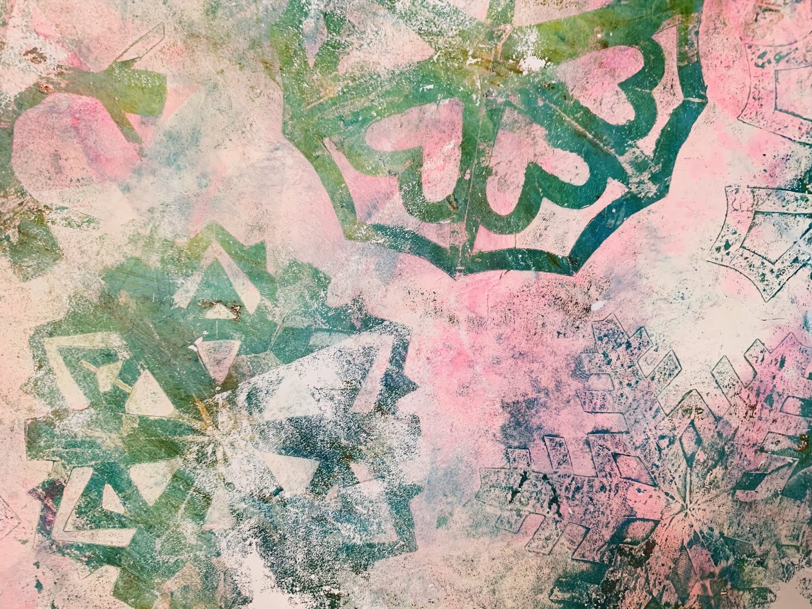Printing with Gelli Arts®: Create Gorgeous Snowflake Prints with
