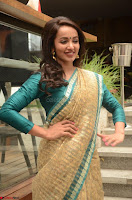 Tejaswi Madivada looks super cute in Saree at V care fund raising event COLORS ~  Exclusive 107.JPG