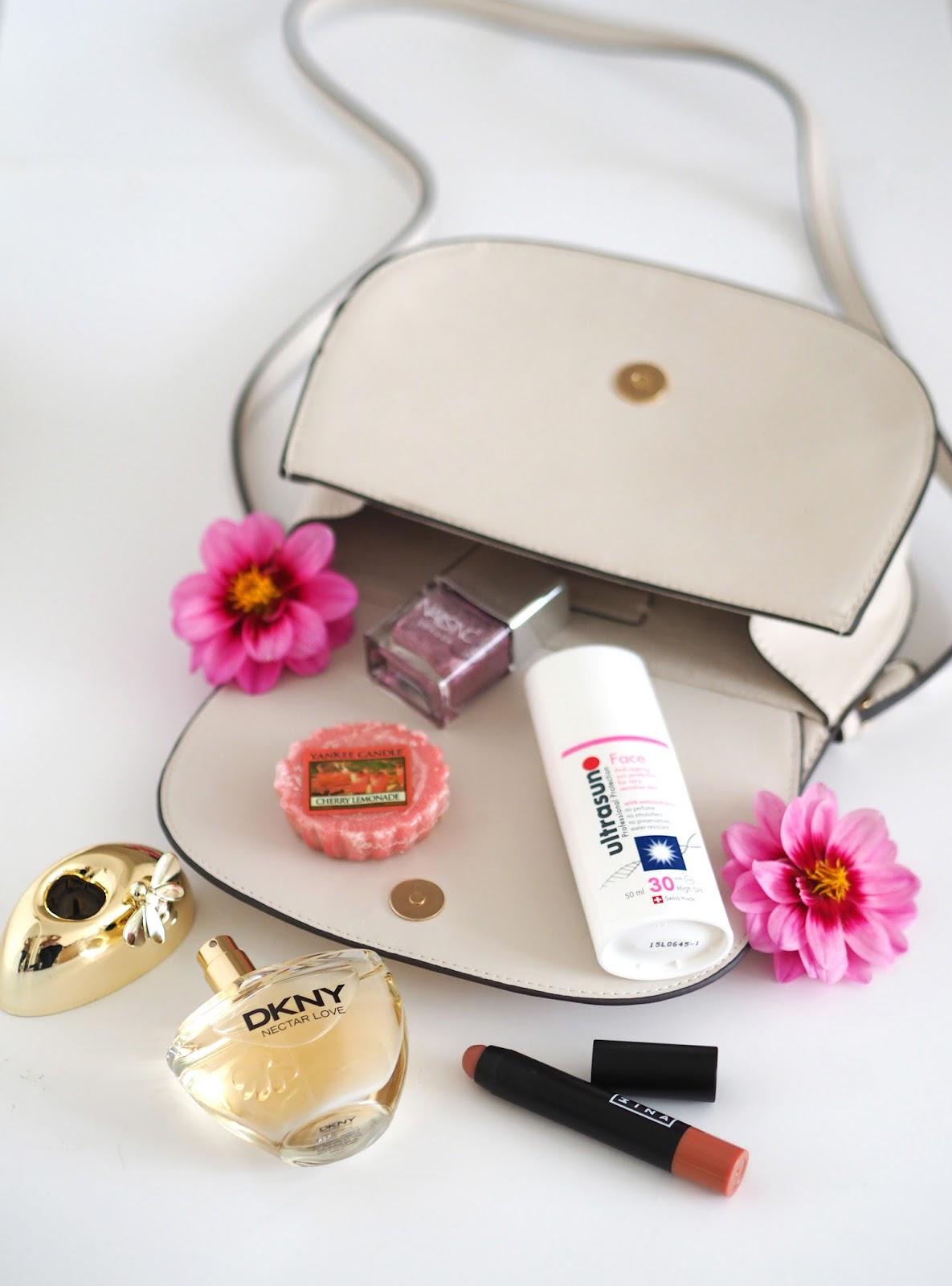 Loves List: August, Katie Kirk Loves, UK Blogger, Beauty Blogger, DKNY Nectar Love, Nails Inc, Mango Bag, Olympus Pen, Olympus 45mm Portrait Lens, Ultrasun Face 30, Ultrasun Suncream, 3ina Makeup, Fashion Blogger