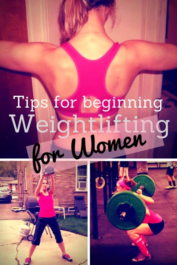 Weightlifting tips for women