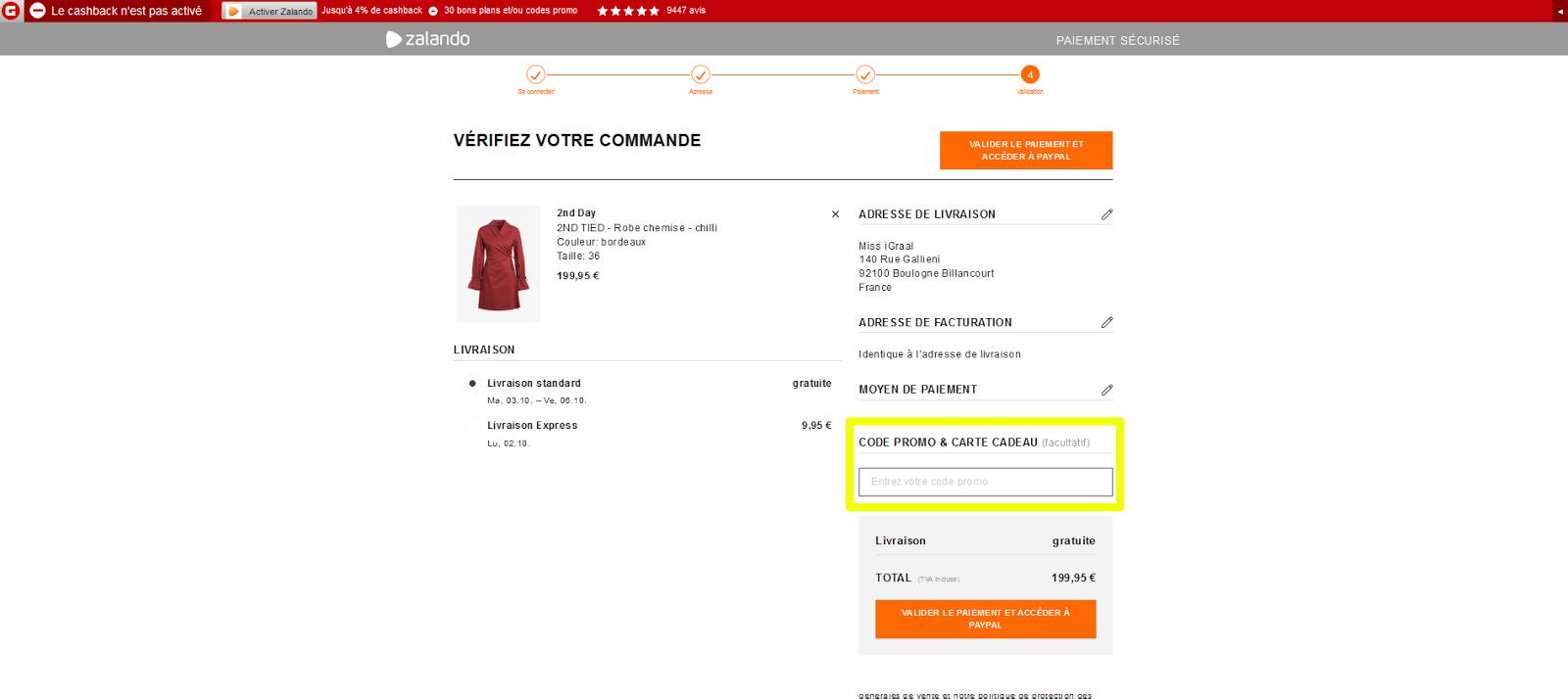 Code frais de port gratuit trendy for iphone s virgin mobile replie xx cm bras duextension prix - Frais de port gratuit zalando prive ...