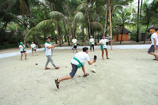 Pinoy games team building in San Juan, Siquijor, Philippines