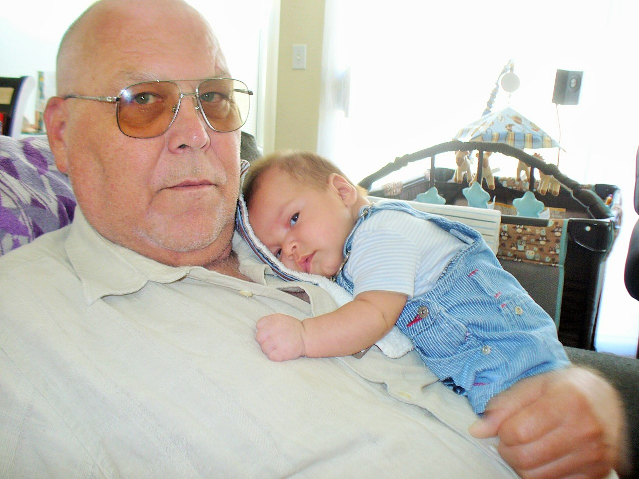 MY FAVORITE FELLAS * Husband & Grandson