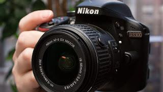 Kamera fotografi nikkon D3300