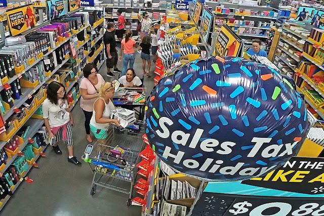 Compras sem taxas em Orlando: Tax Free Weekend