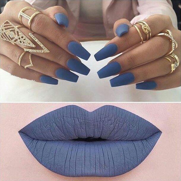 Nail art & lipsticks
