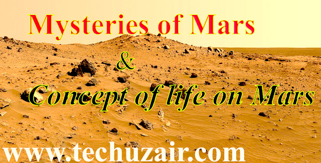 Mysteries of Mars and Concept of life on Mars - www.techuzair.com