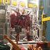 "Custom Build: RG 1/144 Justice Gundam ""Gundam Space Hanger"" Diorama"