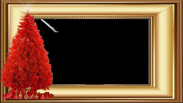 Natal -Moldura dourada 3 FHD