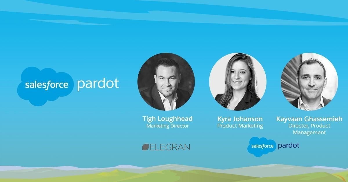 Tigh Loughhead Salesforce MVP presents Pardot Einstein Behavior Score