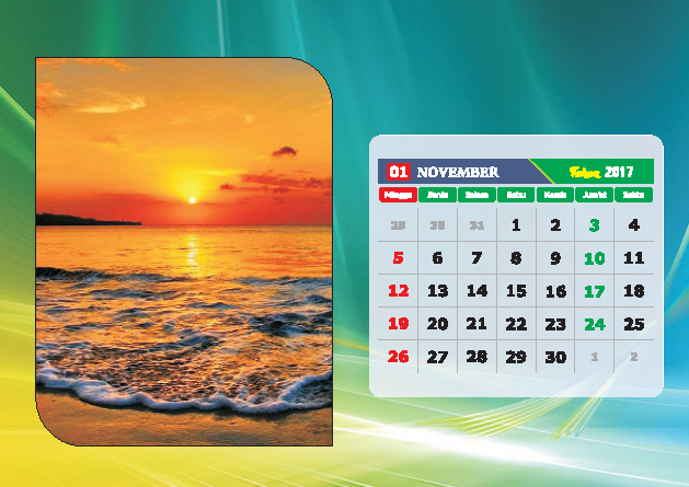 Kalender Bulan November 2017