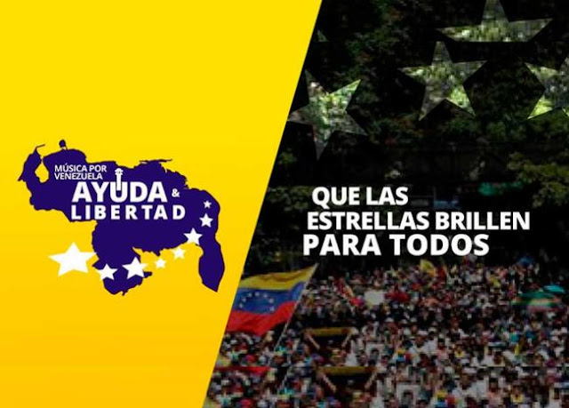 Mega Concierto en Cúcuta  para recaudar fondos a la ayuda humanitaria para Venezuela el viernes 22 Feb.