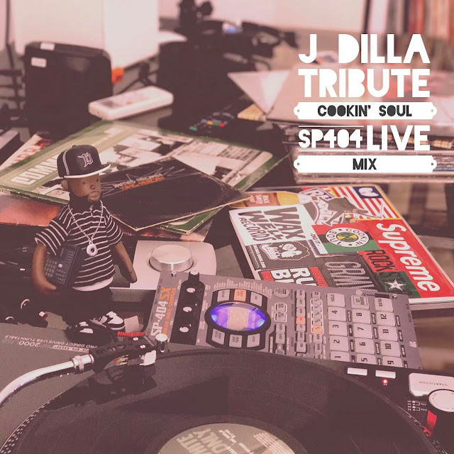 Cookin Soul -  J DILLA Tribute Live MIX | Mixtape