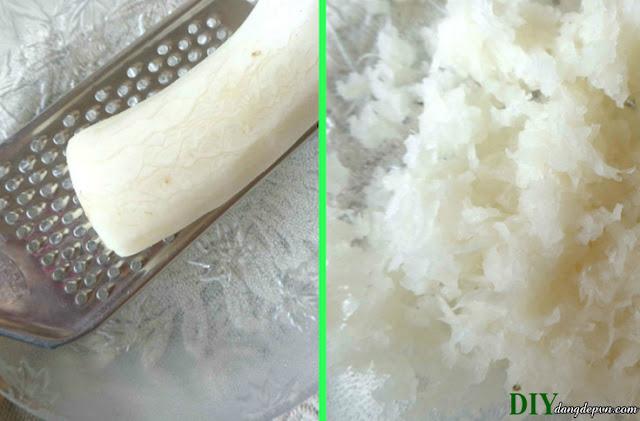 Lạ tai với cách làm trắng da bằng củ cải trắng tại nhà