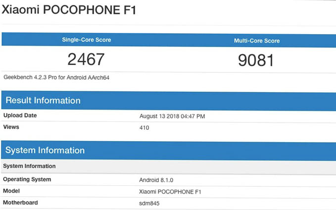 pocophone-f1-fast-geekbench-scores