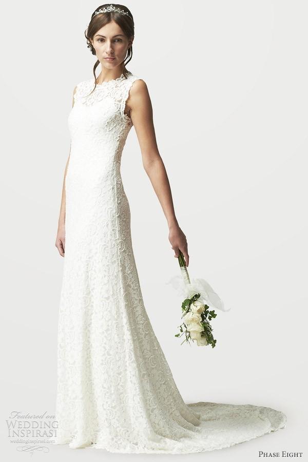 Subtle Wedding Dresses Short