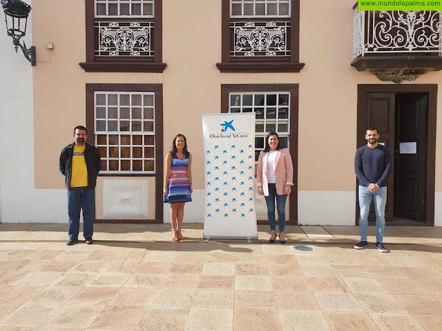 Villa de Mazo recibe 3.000 euros de Obra Social la Caixa para destinar a Servicios Sociales